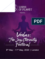 Vedas the Joy of Eternity Festival 2020 London
