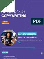 Dicas avançadas de Copywriting