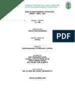 INVESTIGACION # 2.3 ESPEJOS Y LENTES