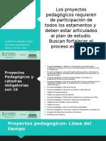 PP Proyectos pedagógicos