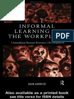 Informal Learning Workplace