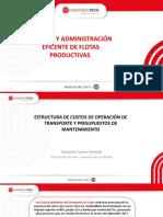 Estructura de Costos de Operación Transporte y Presupuesto.ppsx
