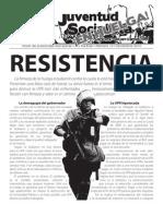 Resistencia, Boletín #19, Diciembre 2010