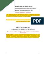 Modelo de TCC