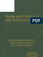 2004. J Rogerson - Theory and Practice in the Old Testament Ethics (JSOTSupp 405, 2004)