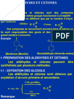 Aldéhydes et cétones