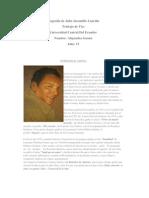 Biografía de Julio Jaramillo Laurido