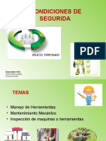RIESGO FISICO- MANEJO DE HERRAMIENTAS