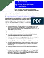 BE_spec_Quantum HD Software Update Procedure