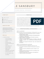 sansbury resume pdf
