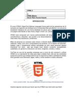 Modulo 1  HTML5