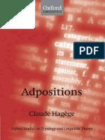 Claude Hagége - Adpositions  -Oxford University Press, USA (2010).pdf