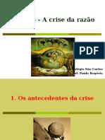 Cap. 16 - A Crise da Razão