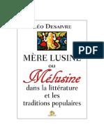 Desaivre Léo - Le mythe de la Mère Lusine.pdf