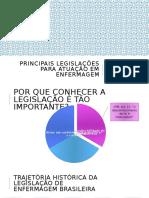 Principais legislações para atuação em enfermagem.pptx