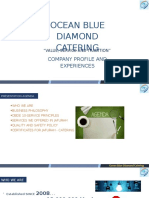 Ocean Blue Diamond Catering Services - company profile