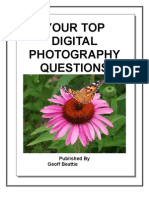 Digital Photography questions and answers