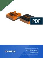 MTi 600-series Datasheet