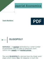Oligopoly Economics PPT