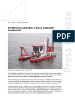 ERKE Group, IHC Merwede and Bredenoord Run a Sustainable Test
