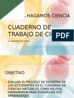 CUADERNO de Trabajo de Ciencias Veira Rodríguez CAP CEGEG - BIQUE