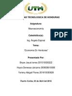 Economia de Honduras (1)