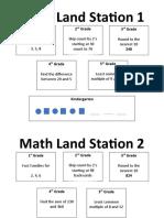 math land station week 1