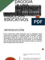 La pedagogía crítica Una manera ética de generar modelos pedagogicos