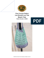 Beach Tote (Crochet)