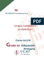 Lengua Castellana y su didáctia