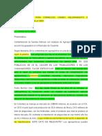 4. UNIDOS POR LA RECUPERACIÓN DEL CHENCHE, CONTAMINACION CERO