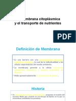 3.Membrana citoplasmica parte 1