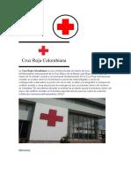 folleto cruz roja