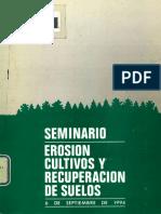Seminario Erosión 1994