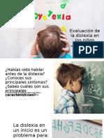 Evaluación Dislexia