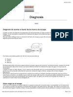 Diagnosis de averias a partir de los humos del motor.