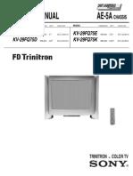 Sony KV29FQ75 Service Manual