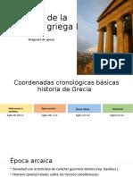 Historia de la educación griega I