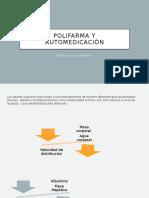 Polifarmacia y aislamiento