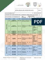 Z6.03D01.AGENDA SEMANAL. 09.09.2019-13.09.2019. Manuel González Avila