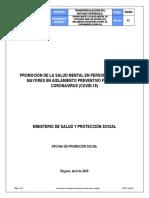 TEDS06 Salud Mental Adulto Mayor - Covid-19  - Abril 15