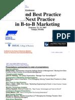 Beyond Best Practice Feb07
