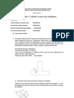 Actividad 4. Cálculo costos de soldadura G - 2 docx