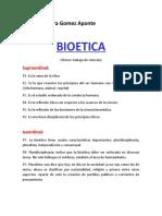 La Bioetica Michel Sahaira Gomez Aponte 9A