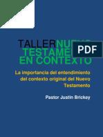 TALLER NUEVO TESTAMENTO EN CONTEXTO - Ps. Justin Brickey.pdf