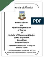 Management Syllabus & Program Plan