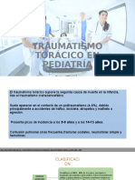 Trauma de Tórax en pediatría.pptx
