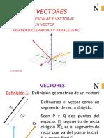 VECTORES -UPN