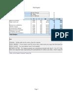 Project Risk Register - Microsoft