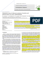 Colorimetric assay of chitosan in presence of proteins and.pdf
